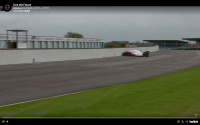 自動運転レース車両のクラッシュ