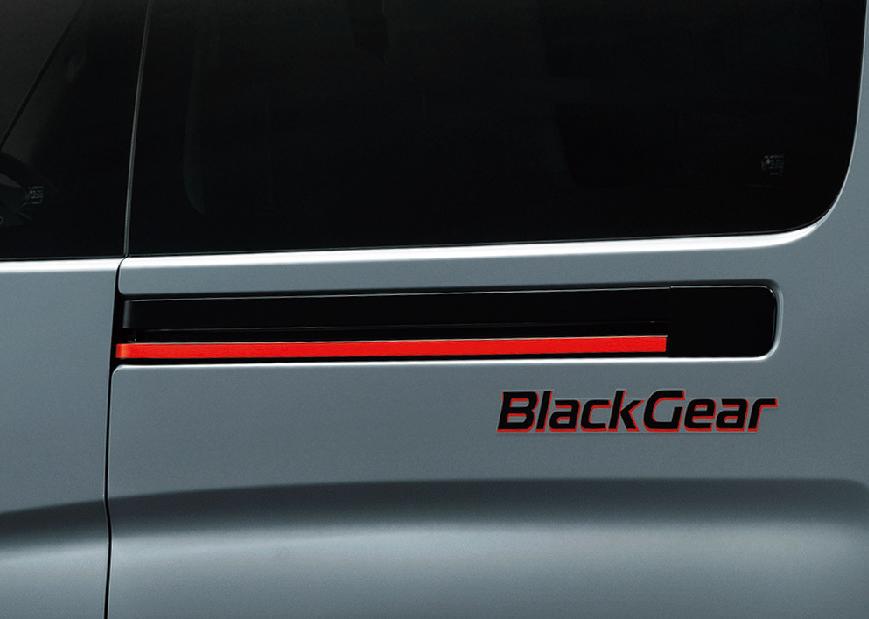 「キャンプ、アウトドアにバエる内装と外装!NV350キャラバンの特別仕様車「プレミアムGX BLACK GEAR」登場【新車】」の5枚目の画像