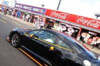 コロナ禍の新生活様式のピットウォークはドライブスルー方式で【SUPER GT 2020・第7戦もてぎ】 - pitwalk_003