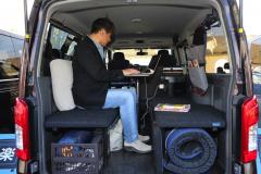 日産NV350キャラバン プレミアムGX ブラックギア活用法