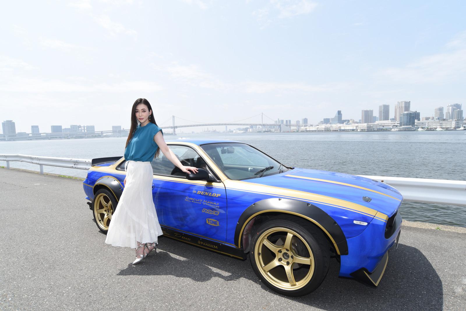 「塚本奈々美がアンバサダーに就任!7周年を迎えたレースゲーム「ドリフトスピリッツ」の貢献」の1枚目の画像