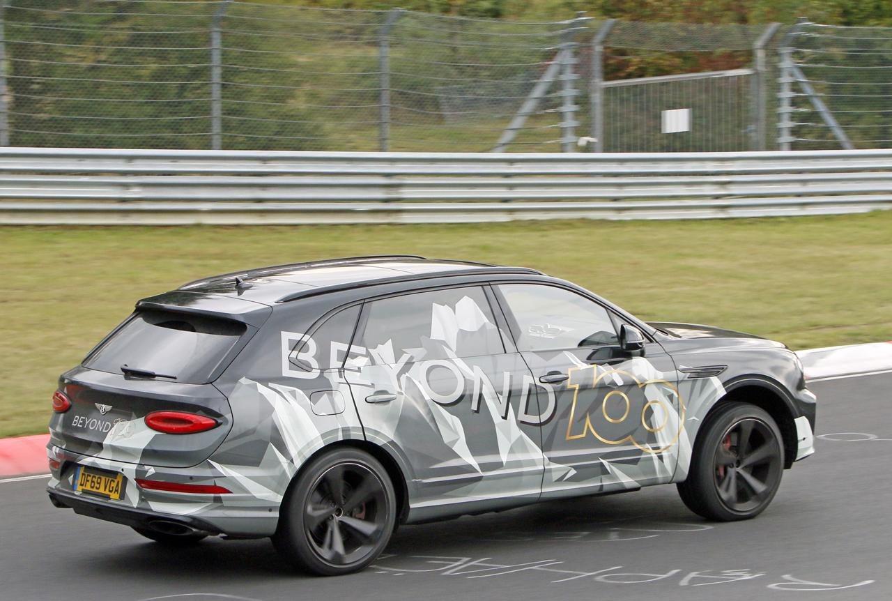 「ベントレー「Beyond100」プラン初のモデル、ベンテイガ「EWB」がニュルで高速テスト」の9枚目の画像