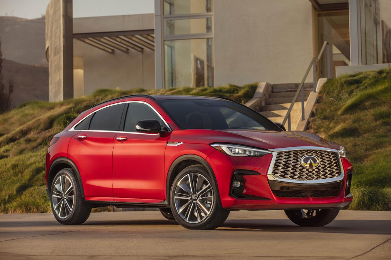 「インフィニティの新型SUV「QX55」をアメリカで発表【新車】」の1枚目の画像
