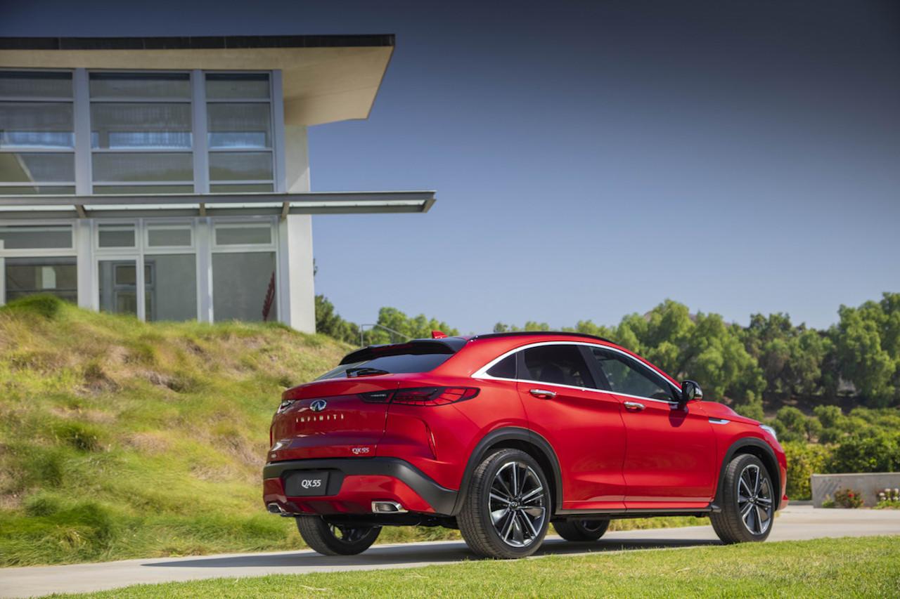 「インフィニティの新型SUV「QX55」をアメリカで発表【新車】」の8枚目の画像