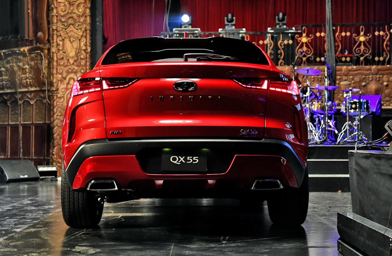 「インフィニティの新型SUV「QX55」をアメリカで発表【新車】」の9枚目の画像