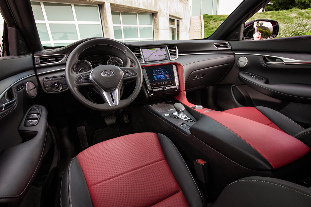 「インフィニティの新型SUV「QX55」をアメリカで発表【新車】」の2枚目の画像