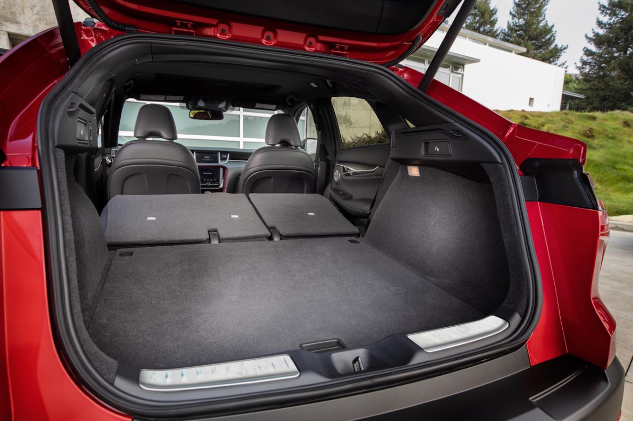 「インフィニティの新型SUV「QX55」をアメリカで発表【新車】」の4枚目の画像