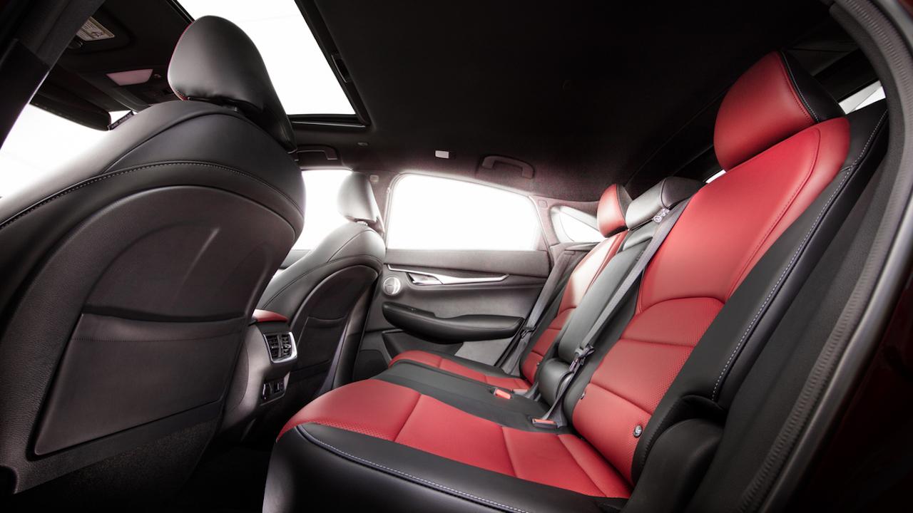 「インフィニティの新型SUV「QX55」をアメリカで発表【新車】」の5枚目の画像