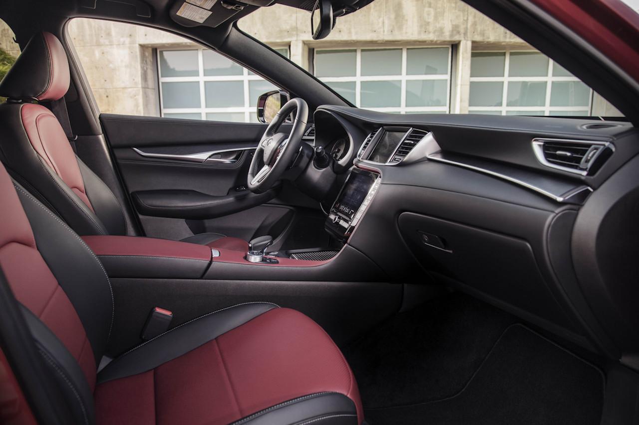 「インフィニティの新型SUV「QX55」をアメリカで発表【新車】」の6枚目の画像