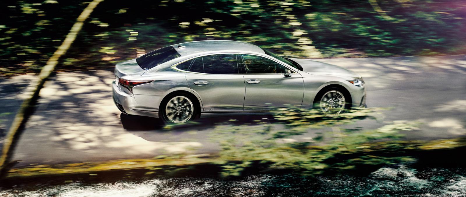 「レクサスLSがビッグマイナーチェンジ。乗り心地や静粛性の向上など、快適性をさらにアップ【新車】」の3枚目の画像