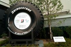 BSイノベギャラリー 世界最大タイヤ