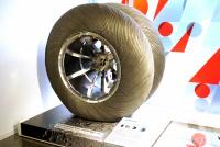 BSイノベギャラリー 月面探査車用タイヤ