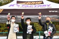 AJECシリーズ表彰台