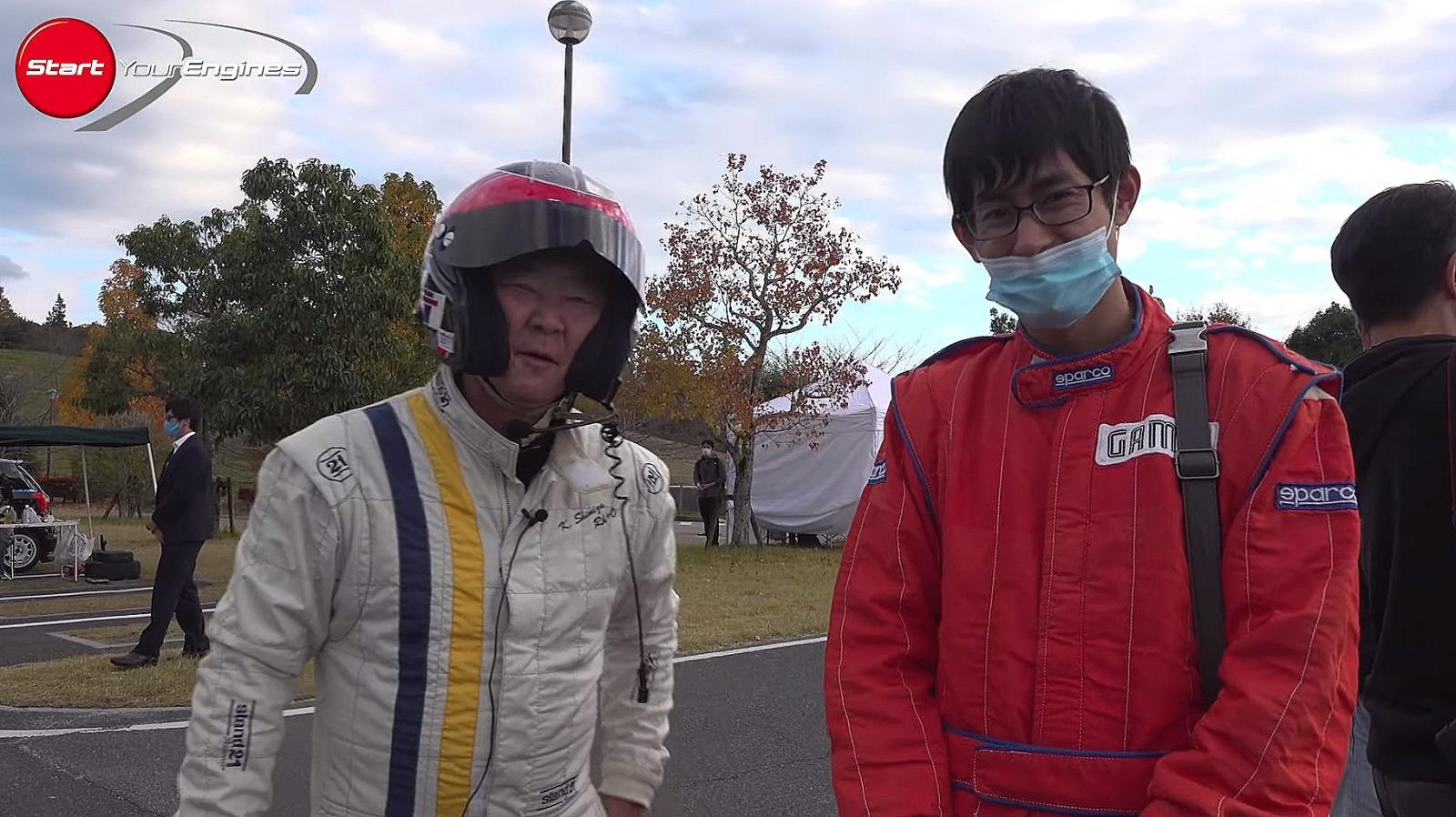 清水選手と小林選手