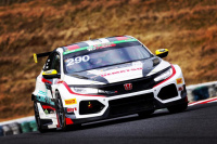 #290 Floral Racing with UEMATSU・F・Link Home CIVIC TCR