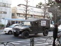 大地震直後の東京②道路は渋滞し、歩道には多くの人が【緊急ルポ】