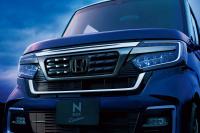 Nボックス・カスタム用フロントグリルブラック
