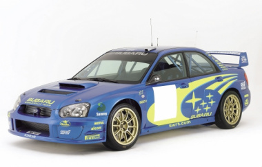 2003インプレッサWRXWRC仕様