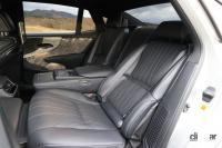 マイナーチェンジしたレクサスLSの22ウェイパワーリヤシートは、マッサージと温冷を繰り返す機能によりパッセンジャーを癒やす - Lexus_LS_20201230_5