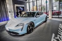 流行最先端の街、原宿でポルシェ・タイカンを文字通り「タイカン」してきた! - Porsche Taycan 4S