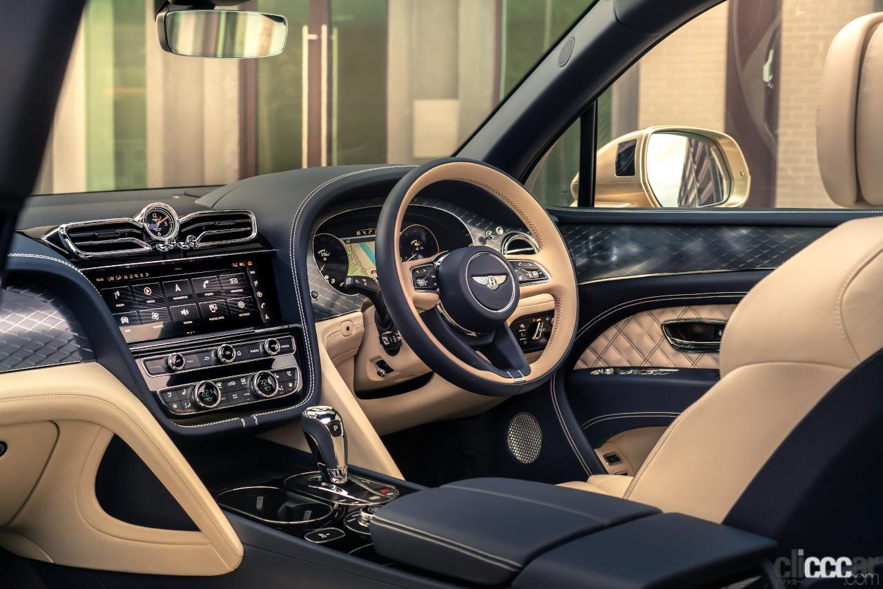 「人気のラグジュアリーSUV ベントレー・ベンテイガにPHEV車を設定【新車・ベントレーベンテイガ】」の6枚目の画像