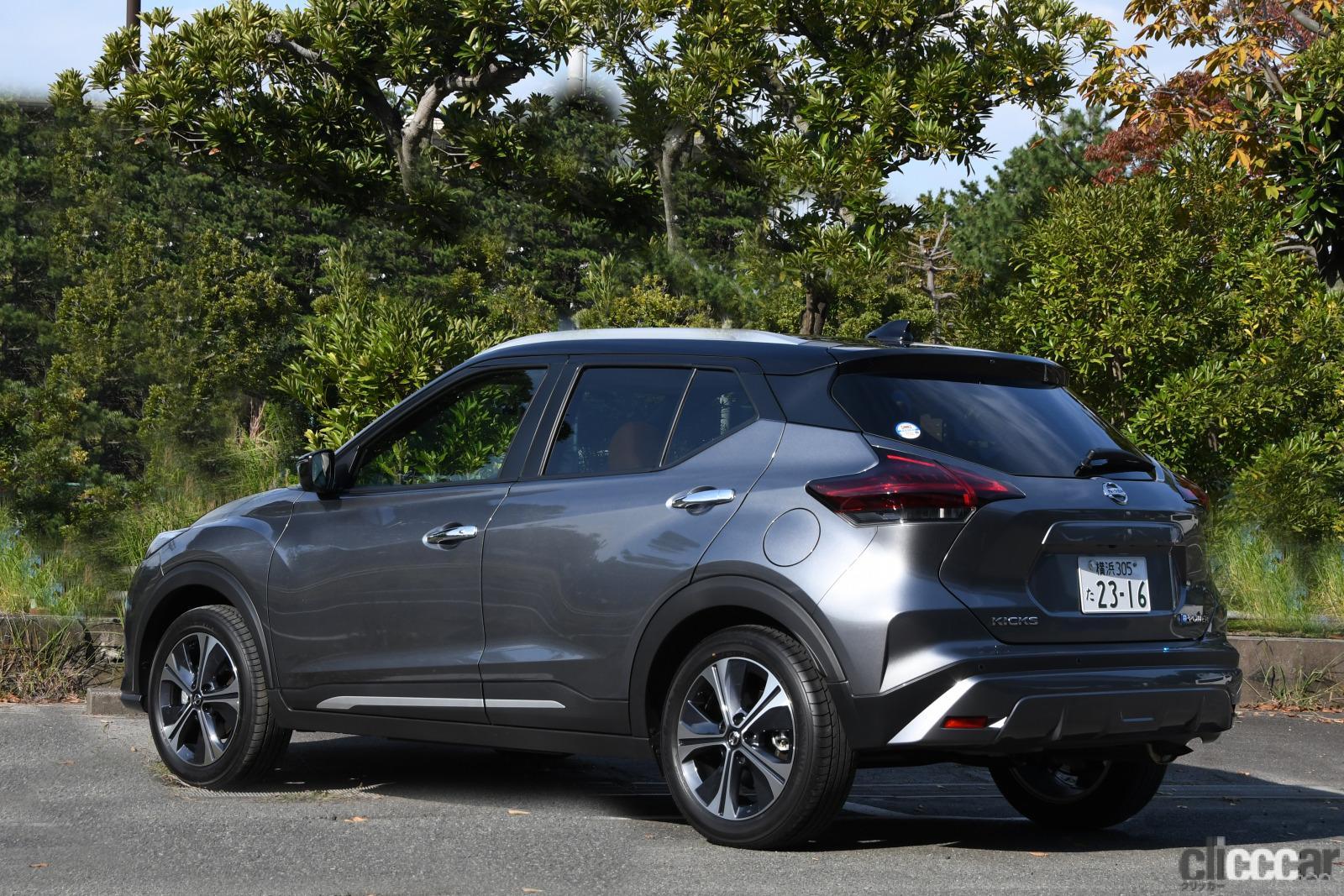 「SUVのeパワー搭載モデルが登場。コンパクトカー、ミニバンに続く第3弾【日産キックス試乗】」の2枚目の画像