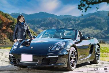 飯田裕子さんの愛車、ポルシェ・ボクスター。