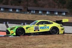 第5戦終了時でポイントトップのHIRIX GOOD DAY RACING AMG GT3