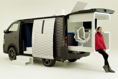 NV350 CARAVAN OFFICE POD CONCEPT