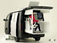 日産 NV350 CARAVAN OFFICE POD CONCEPT