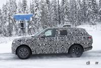 プレミアムSUVの代名詞・レンジローバーの次期型はBMW製V8で豪雪を激走中 - Range Rover 10