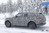 プレミアムSUVの代名詞・レンジローバーの次期型はBMW製V8で豪雪を激走中 - Range Rover 11