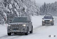 プレミアムSUVの代名詞・レンジローバーの次期型はBMW製V8で豪雪を激走中 - Range Rover 2