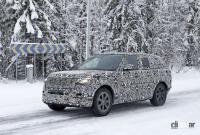 プレミアムSUVの代名詞・レンジローバーの次期型はBMW製V8で豪雪を激走中 - Range Rover 7