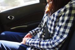 一般道の後席シートベルトは未だに約60%が非着用