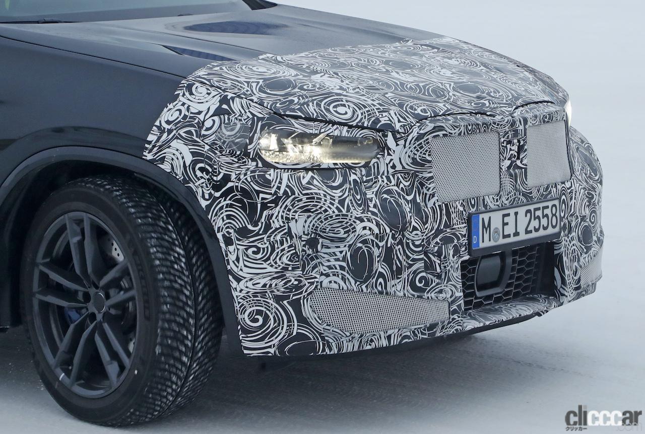 「グリルは「ソコソコ」拡大。BMW X4M改良新型、ブルーブレーキキャリパー初装着!」の13枚目の画像