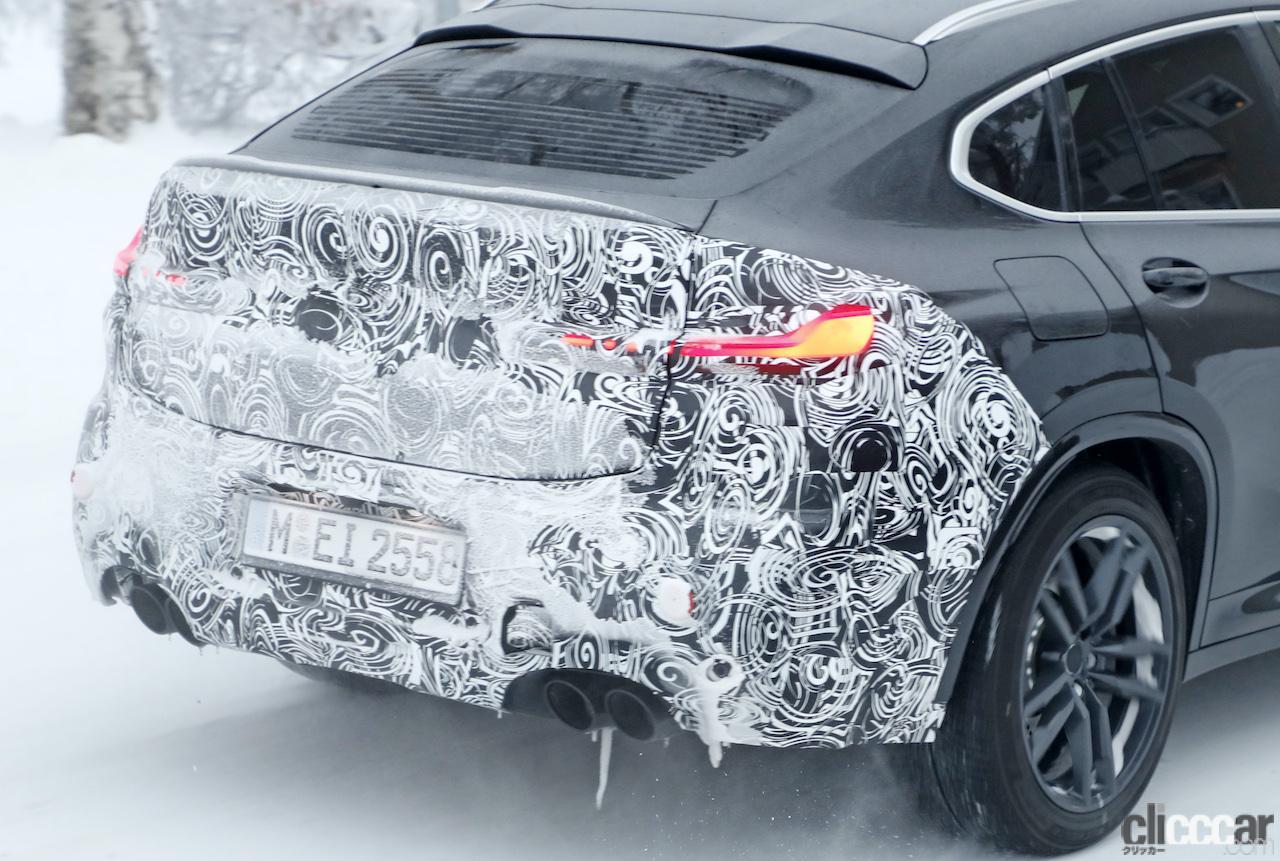 「グリルは「ソコソコ」拡大。BMW X4M改良新型、ブルーブレーキキャリパー初装着!」の14枚目の画像