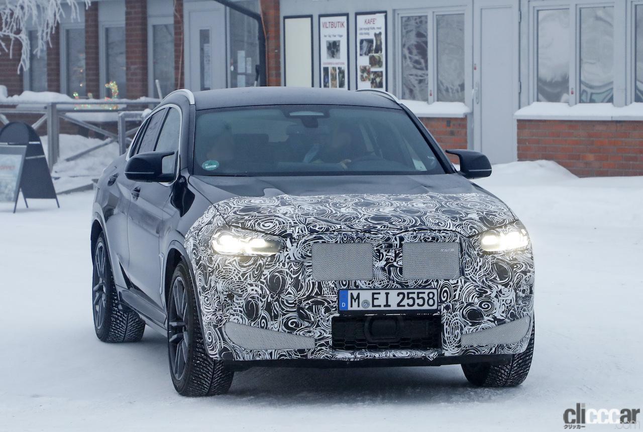 「グリルは「ソコソコ」拡大。BMW X4M改良新型、ブルーブレーキキャリパー初装着!」の2枚目の画像