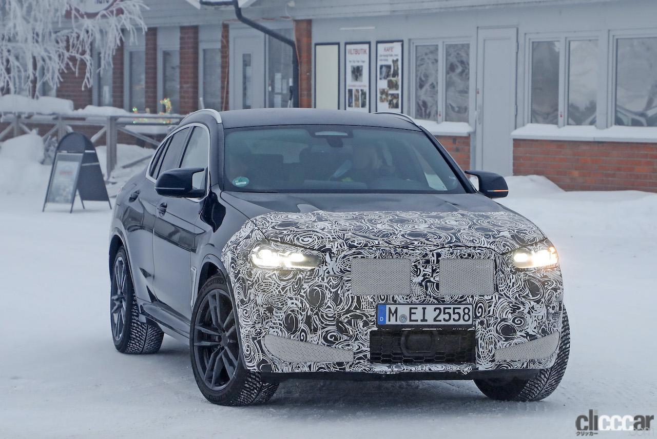 「グリルは「ソコソコ」拡大。BMW X4M改良新型、ブルーブレーキキャリパー初装着!」の3枚目の画像
