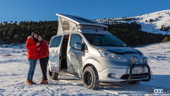日産 e-NV200 Winter Camper concept