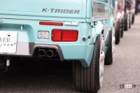 AERO OVER K-TRIDER Ⅱのオーバーフェンダー
