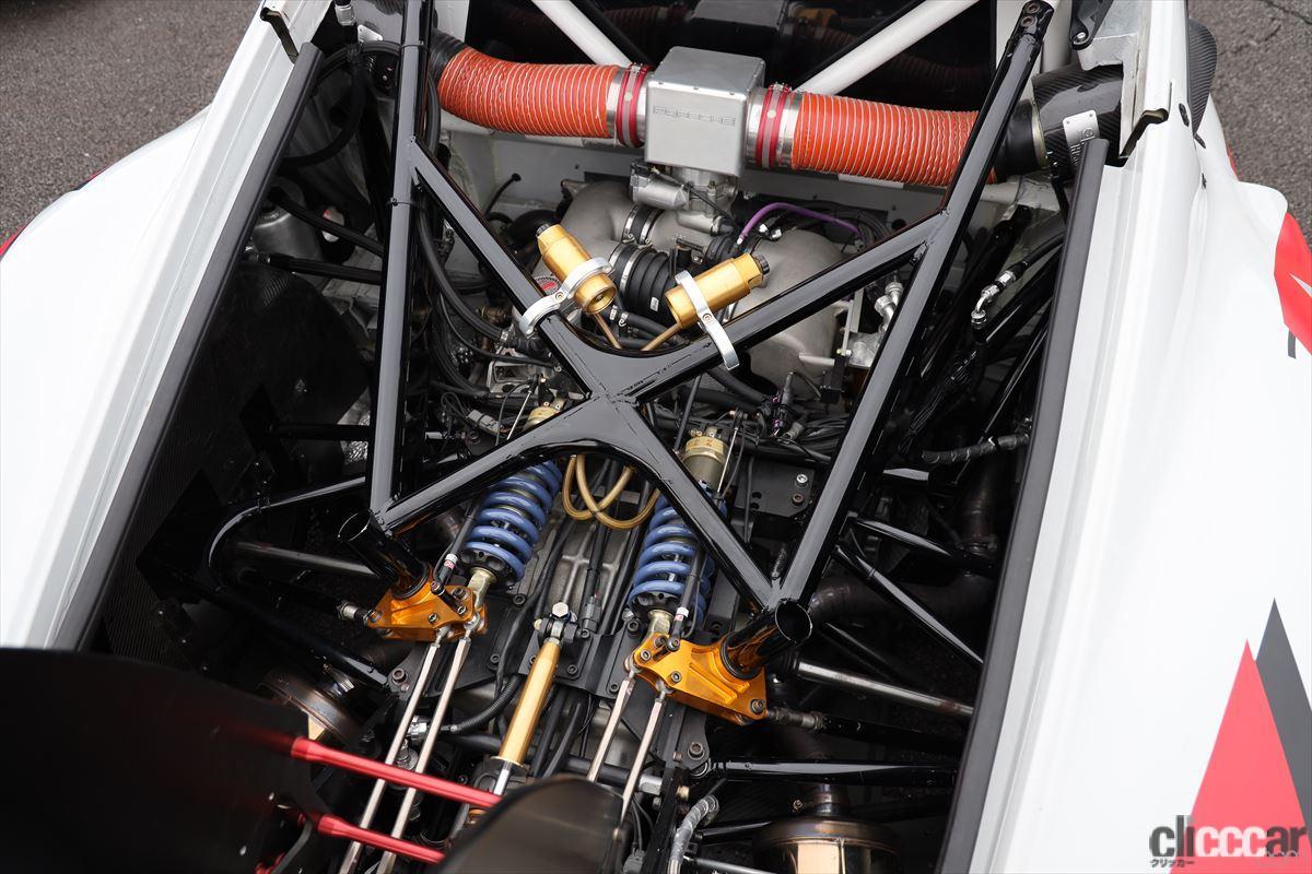 M's Cayman GT3のリアセクション