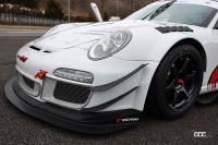 M's Cayman GT3のフロントバンパースポイラー