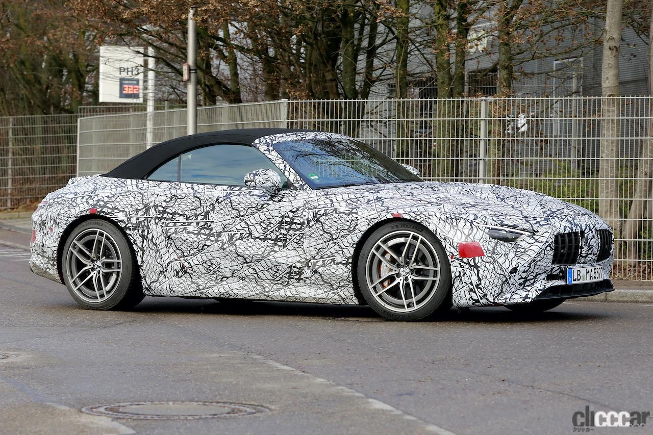 「メルセデスAMG SL次世代型、トップグレードには800馬力の「73e」を設定か!?」の4枚目の画像