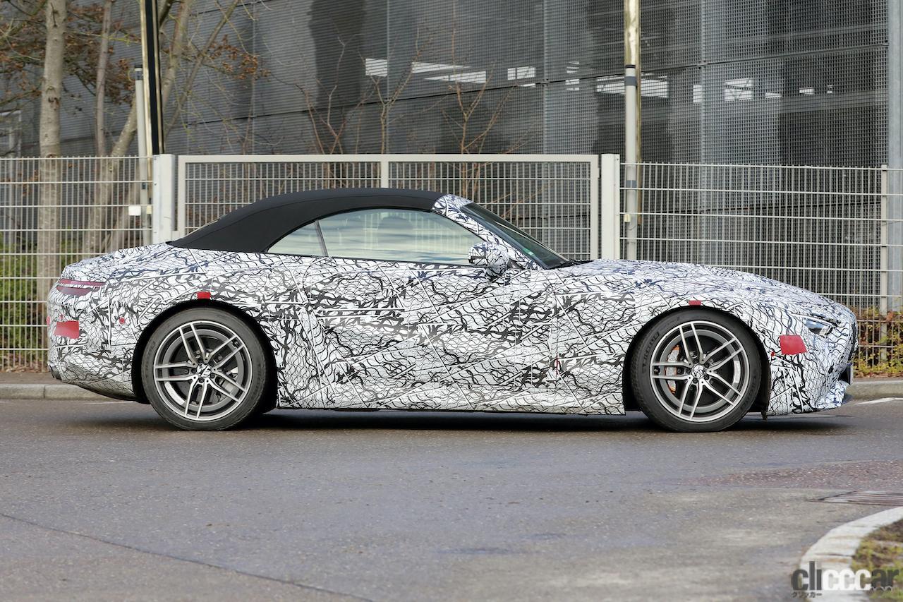 「メルセデスAMG SL次世代型、トップグレードには800馬力の「73e」を設定か!?」の5枚目の画像