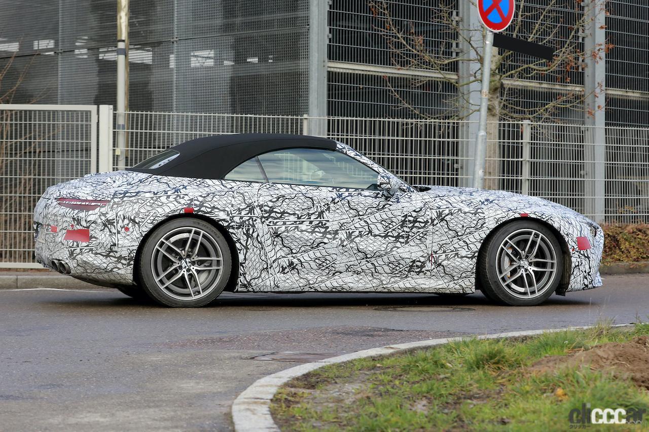 「メルセデスAMG SL次世代型、トップグレードには800馬力の「73e」を設定か!?」の6枚目の画像