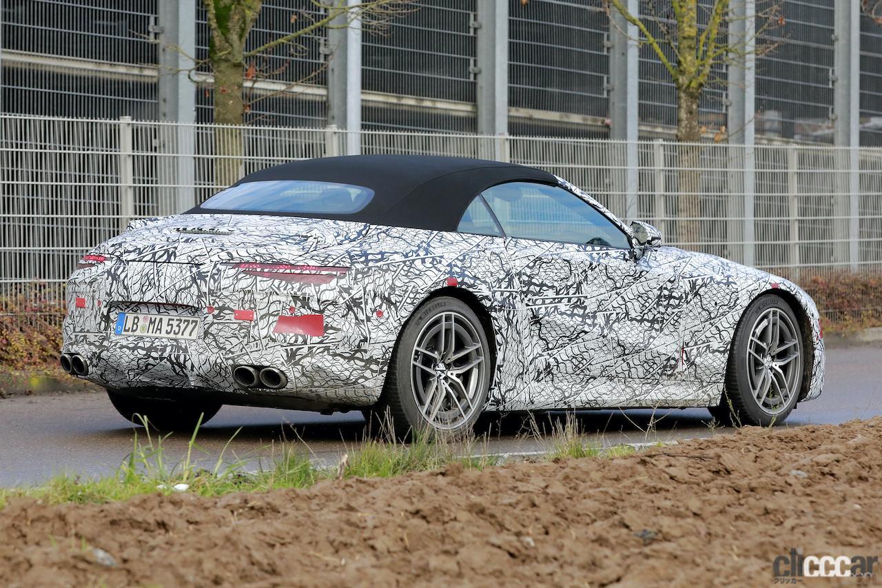 「メルセデスAMG SL次世代型、トップグレードには800馬力の「73e」を設定か!?」の7枚目の画像