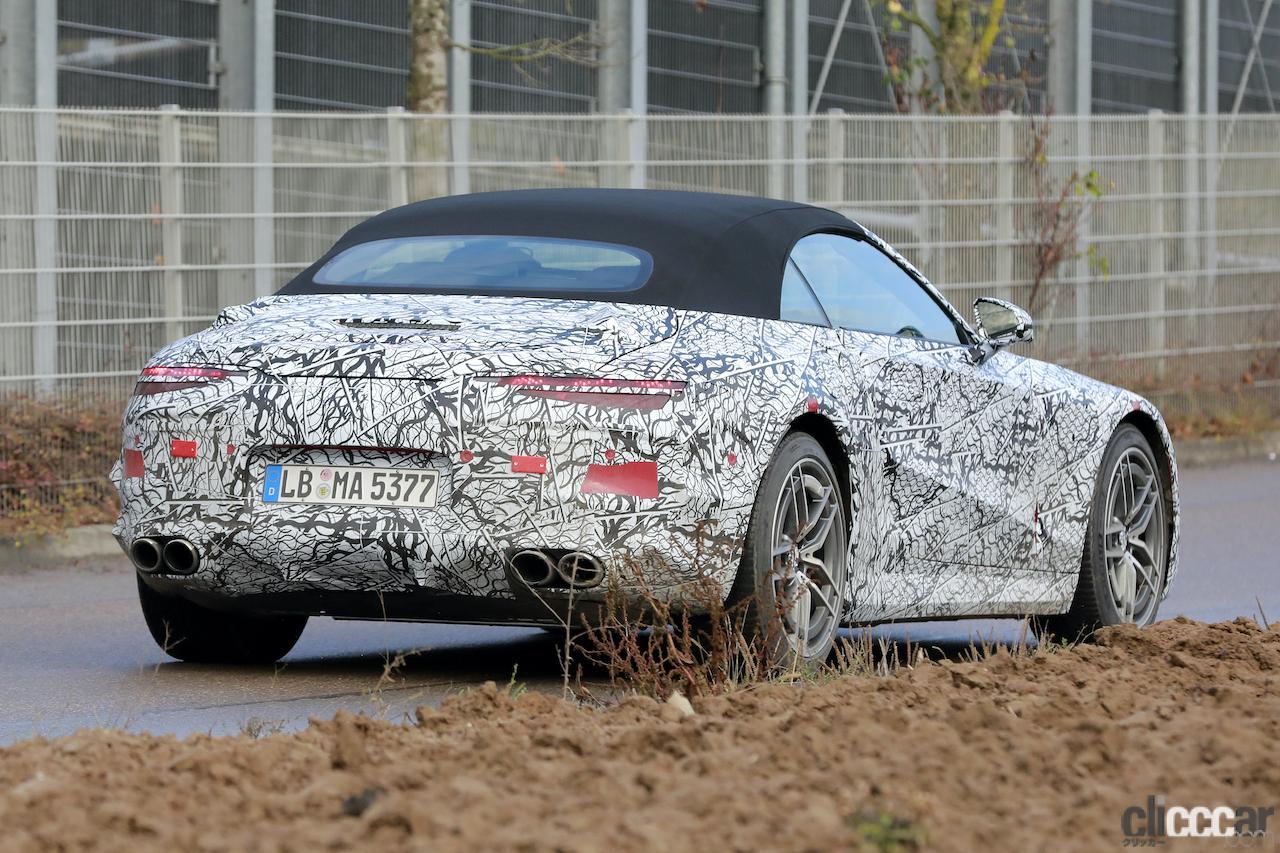 「メルセデスAMG SL次世代型、トップグレードには800馬力の「73e」を設定か!?」の8枚目の画像