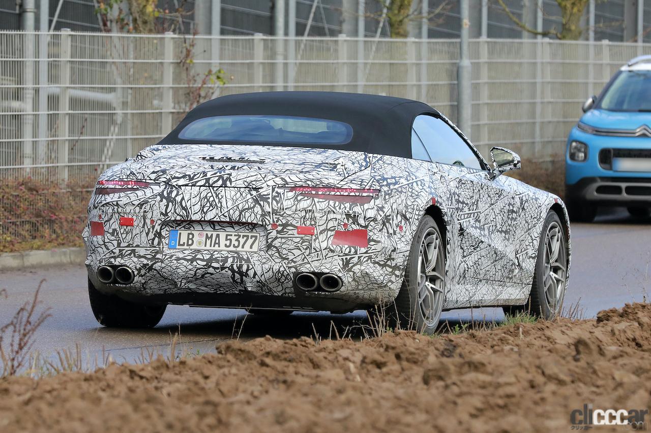 「メルセデスAMG SL次世代型、トップグレードには800馬力の「73e」を設定か!?」の9枚目の画像