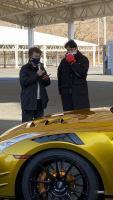 世界一の最高速度違反男、トップシークレット・スモーキー永田の2021モデル・ゴールドR35は1000万円!【東京オートサロン2021】 - tokyoautosalon_fsw_top_r35gold_07